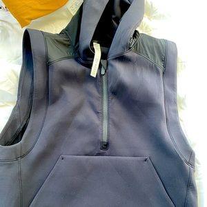 Lululemon sleeveless hoodie vest